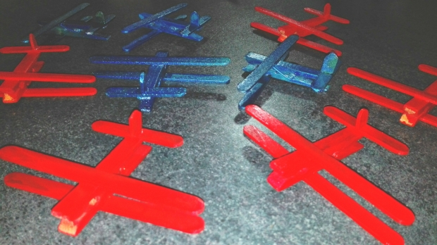 More peg airplanes