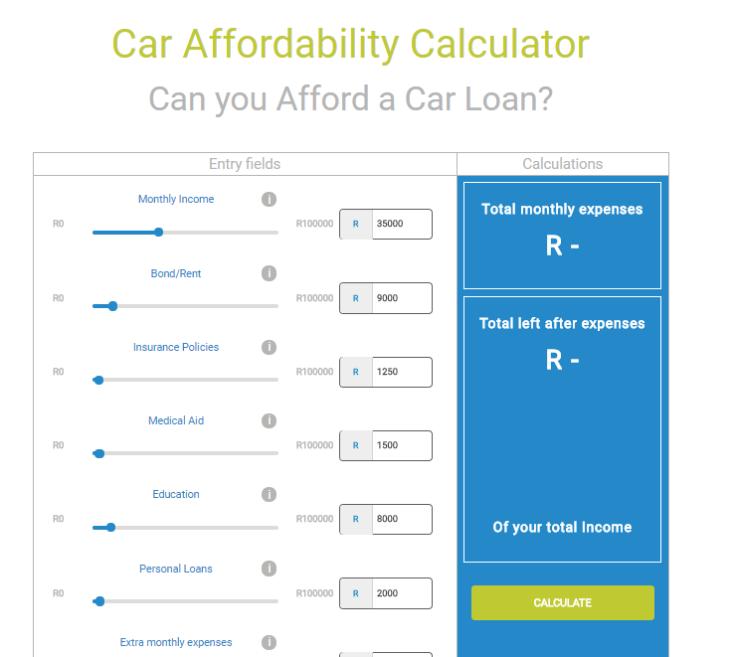 CarZar affordability